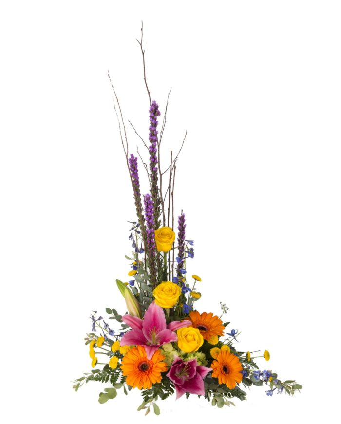 Heavenly Garden Stylized Arrangement